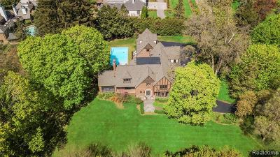 Bloomfield Hills Single Family Home For Sale: 304 Barden Rd
