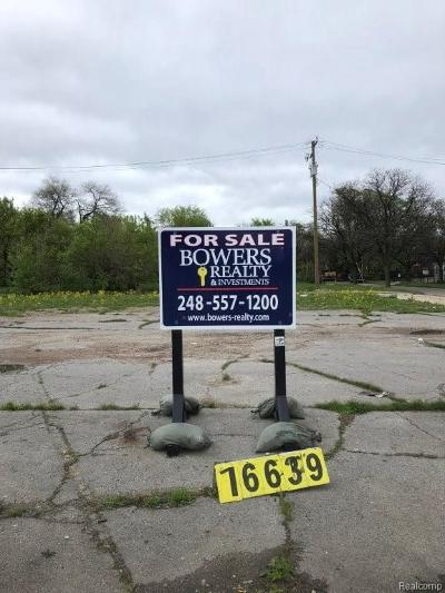 Detroit Residential Lots & Land For Sale: 9580 Grand River