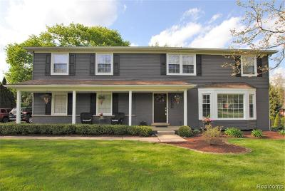 Bloomfield Hills Single Family Home For Sale: 2775 Brady Dr