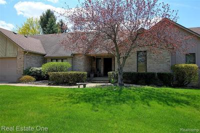 Clarkston Single Family Home For Sale: 6579 Deer Ridge Dr