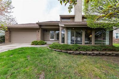 West Bloomfield Single Family Home For Sale: 2149 Hidden Lake Dr