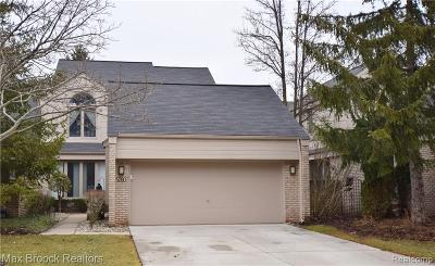 West Bloomfield Condo/Townhouse For Sale: 5280 Mirror Lake Crt