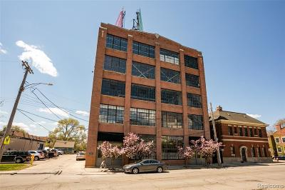 Detroit Condo/Townhouse For Sale: 1535 6th St