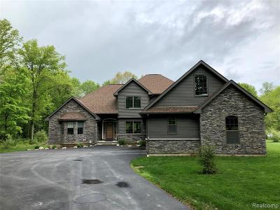 Lapeer Single Family Home For Sale: Lily Ann Ln