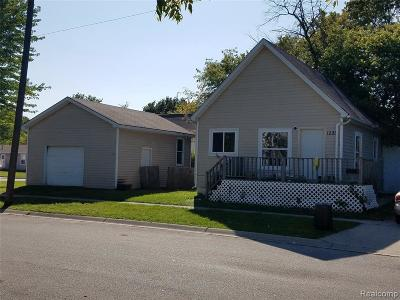 Port Huron Single Family Home For Sale: 1221 11th St
