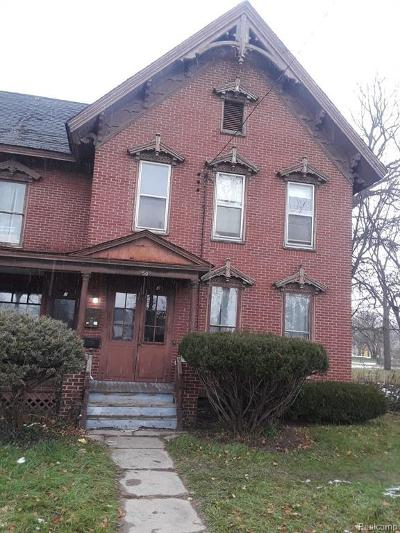 Pontiac Single Family Home For Sale: 50 Clark St