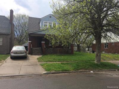 Detroit Single Family Home For Sale: 9193 Appoline St