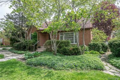 Huntington Woods Single Family Home For Sale: 26338 Humber St