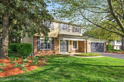Lake Orion Single Family Home For Sale: 2535 Gemini Crt