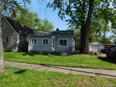 Hazel Park Single Family Home For Sale: 343 E Madge Ave
