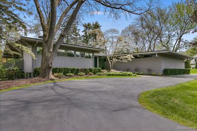 Bloomfield Hills Single Family Home For Sale: 150 Martell Dr