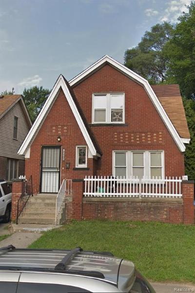 Detroit Single Family Home For Sale: 19409 Moenart St