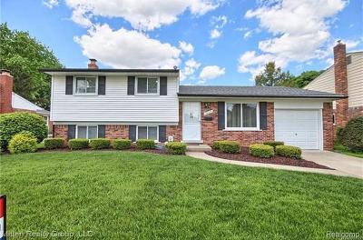 Livonia Single Family Home For Sale: 38026 Ross St