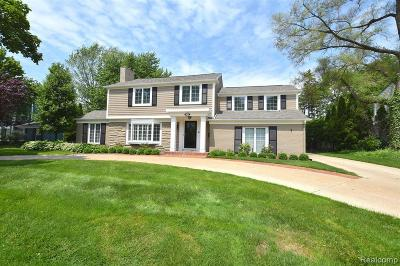 Bloomfield Hills Single Family Home For Sale: 559 N Cranbrook Rd