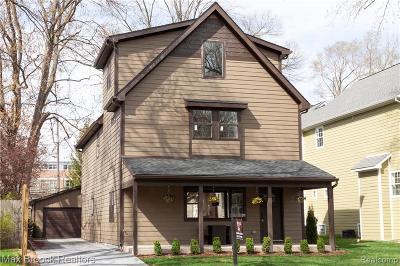 Royal Oak Single Family Home For Sale: 337 E Kenilworth Ave