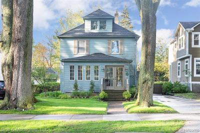 Grosse Pointe Farms Single Family Home For Sale: 278 Ridgemont