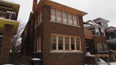 Detroit Multi Family Home For Sale: 4086 Virginia Park St