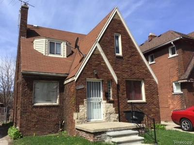 Detroit Single Family Home For Sale: 8531 Northlawn St