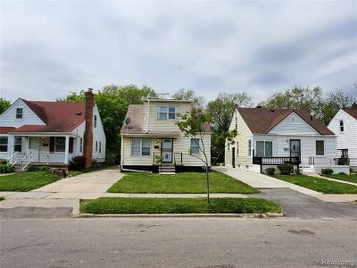Detroit Single Family Home For Sale: 7725 Greenview Ave