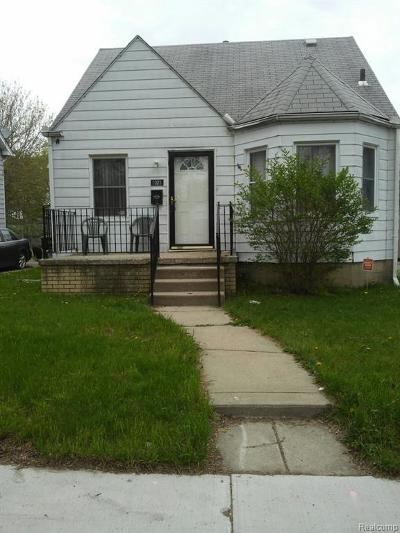 Detroit Single Family Home For Sale: 7324 N Warwick St S