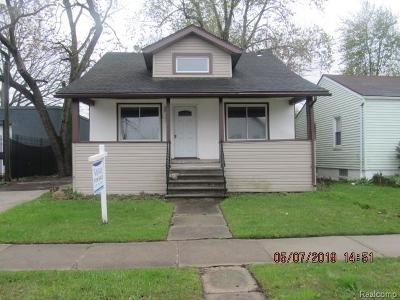 Ferndale Single Family Home For Sale: 550 E Marshall St