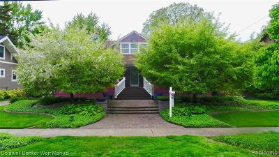 Birmingham Single Family Home For Sale: 611 Greenwood St