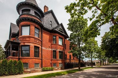 Detroit Condo/Townhouse For Sale: 4304 Trumbull St