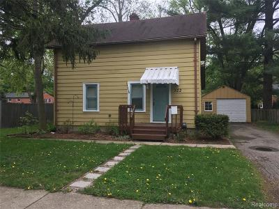 Rochester Single Family Home For Sale: 322 Terry Ave