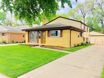 Dearborn Single Family Home For Sale: 24376 Hanover St