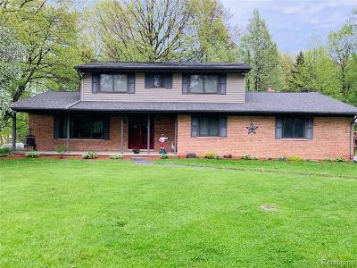 Richmond Single Family Home For Sale: 78950 Cryderman Rd