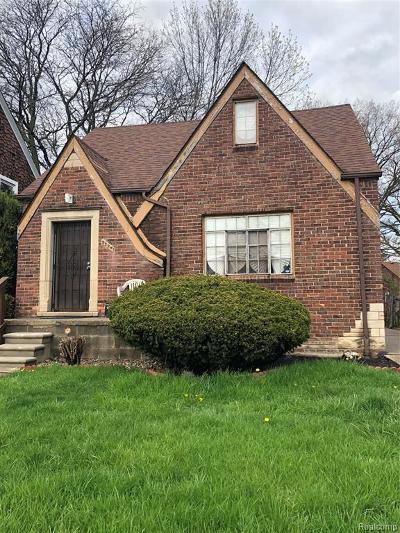 Detroit Single Family Home For Sale: 5296 Bedford St