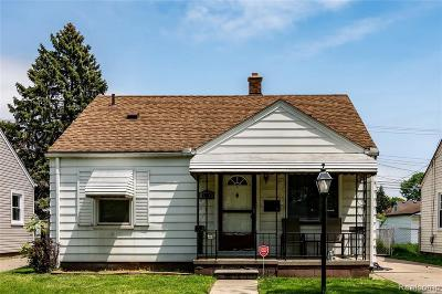 Dearborn Single Family Home For Sale: 4933 Merrick