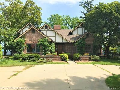 St. Clair Single Family Home For Sale: 1475 River Rd