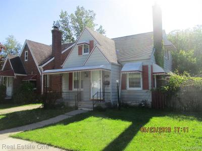 Dearborn Single Family Home For Sale: 6731 Heyden St