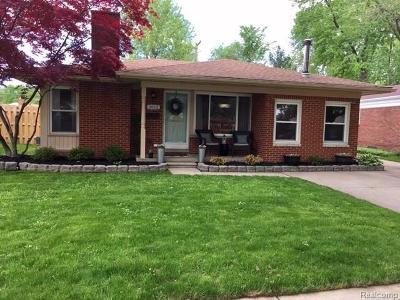Royal Oak Single Family Home For Sale: 3612 Mark Orr Rd