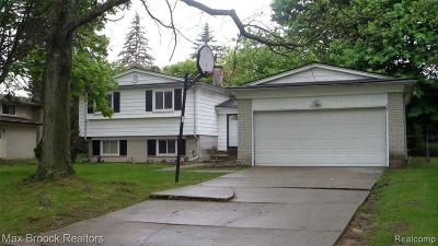 Southfield Single Family Home For Sale: 27585 Abington St