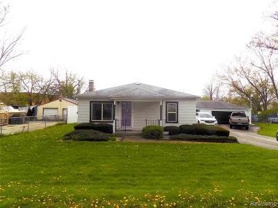 Flint Single Family Home For Sale: 3055 Stratford St