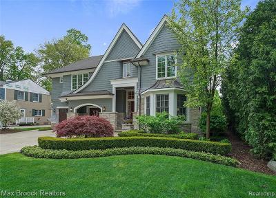 Birmingham Single Family Home For Sale: 584 N Glenhurst Dr