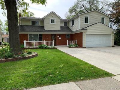 Wayne Single Family Home For Sale: 411 N Beech Daly Rd