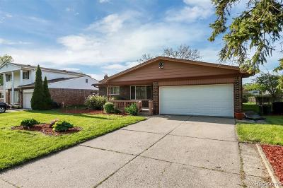 Macomb Single Family Home For Sale: 5219 Chadbourne Dr