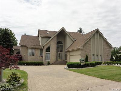 Farmington Hills Condo/Townhouse For Sale: 28042 Hickory Circle