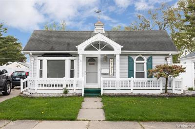 Saint Clair Shores Single Family Home For Sale: 21912 Grand Lake St