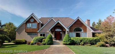 Clarkston Single Family Home For Sale: 4454 Lancaster Dr