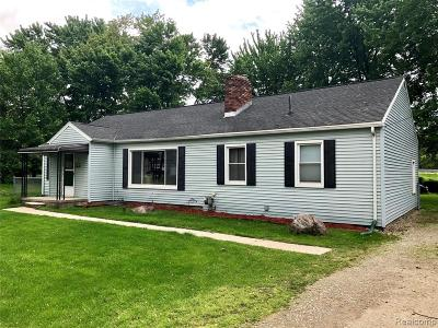 Rochester Hills Single Family Home For Sale: 826 Michelson Rd