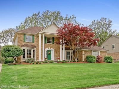 Northville Single Family Home For Sale: 46065 Greenridge Dr