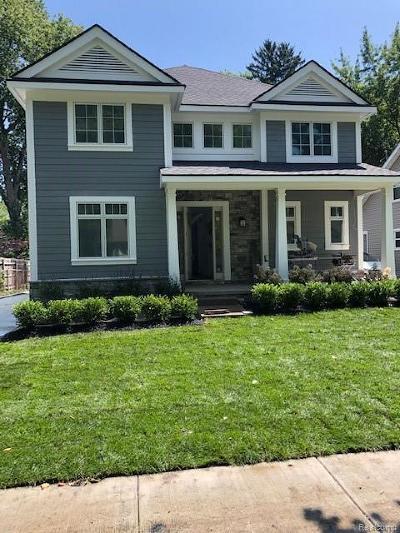 Birmingham Single Family Home For Sale: 1383 Cedar Dr