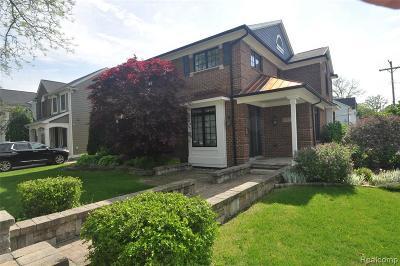 Birmingham Single Family Home For Sale: 1710 Pierce St