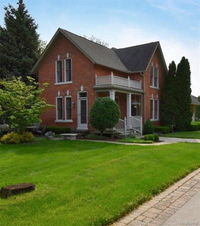 Harrison Twp Single Family Home For Sale: 29020 S River Rd