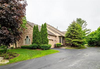 Shelby Twp Condo/Townhouse For Sale: 1953 Clearwood Crt