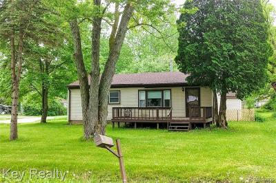 Belleville Single Family Home For Sale: 21776 Fenster St